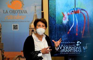 Presidenta de la Asociación Cultural Alisios, Mariví Martínez